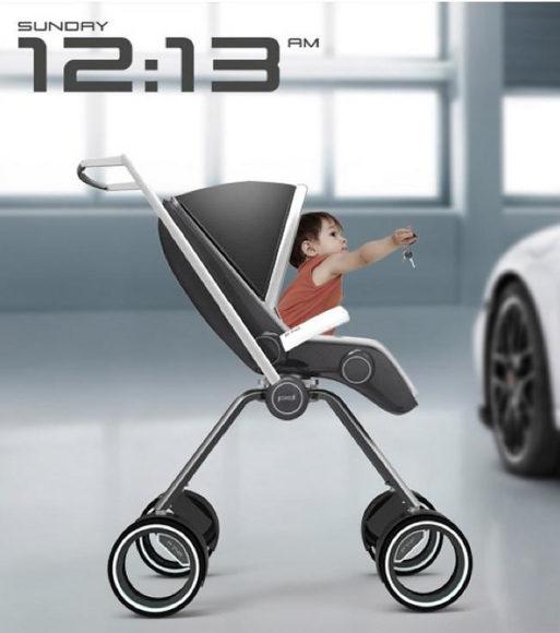 Καροτσάκι μωρού Porsche Design P'4911 του Dawid Dawod.