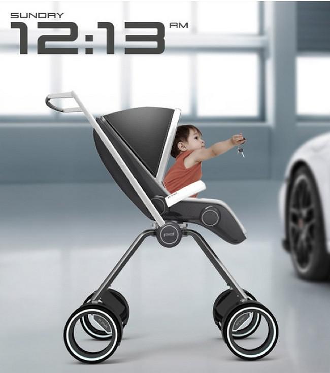 Porsche Design P'4911 Baby Stroller by Dawid Dawod.