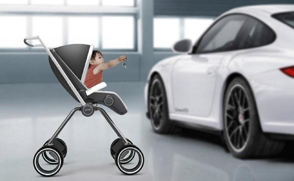 Porsche Design P4911 Baby Stroller by Dawid Dawod