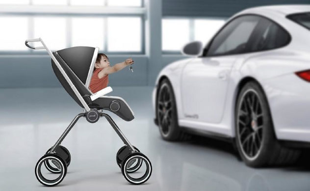 Porsche Design P4911 Baby Stroller Dawid Dawod