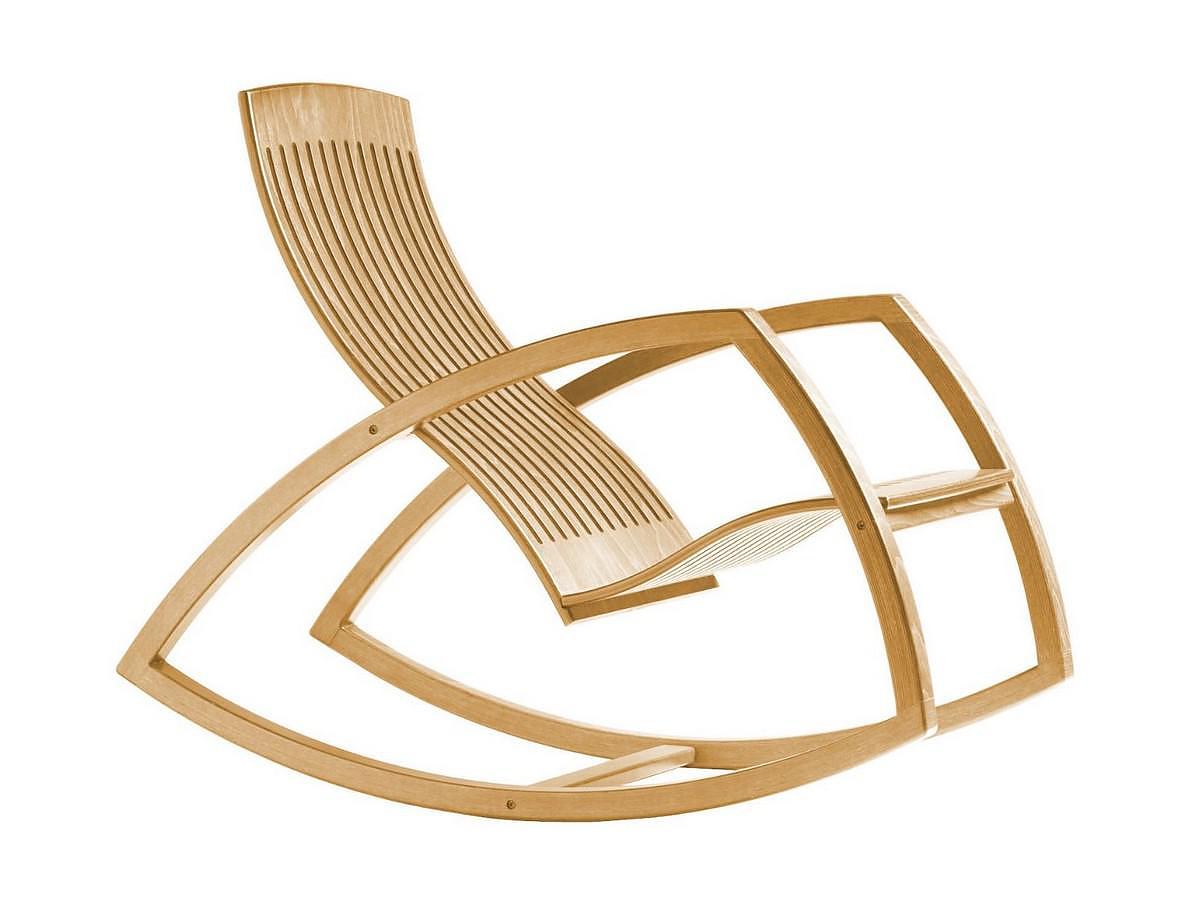 Gaivota Rocking Chair by Renaud Bonzon.