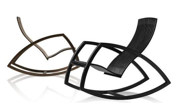 Rocking Chair Gaivota by Renaud Bonzon
