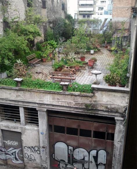 Ένας Μυστικός Κήπος σε Ταράτσα της Πάτρας.