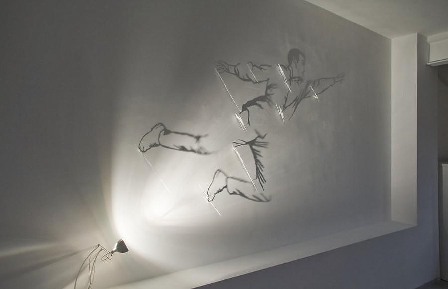 Shadow Art by Fabrizio Corneli.