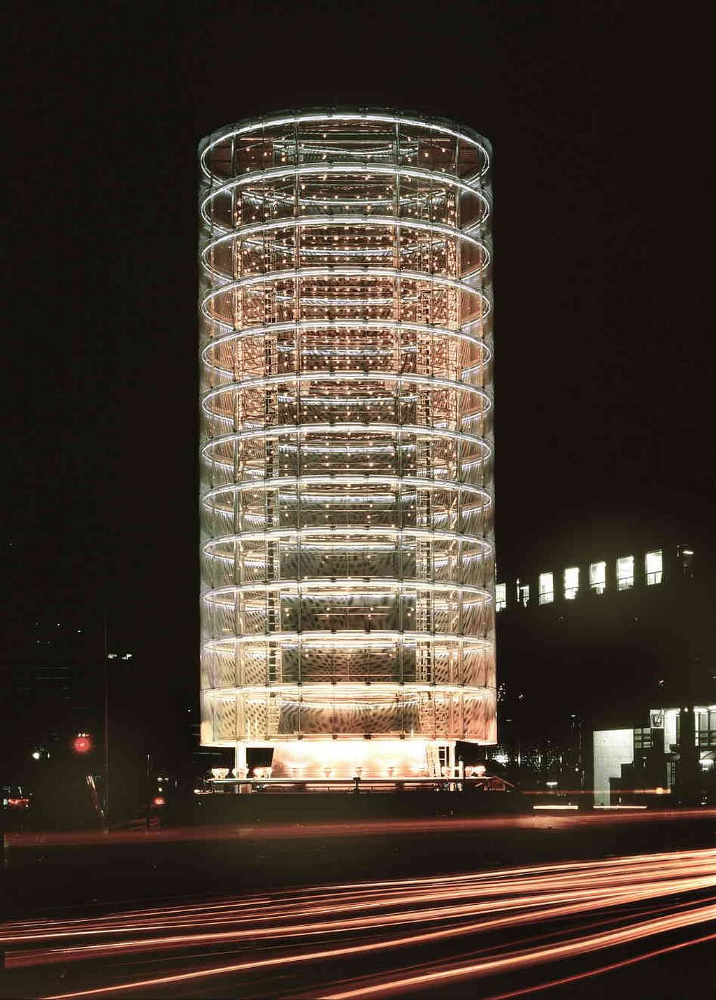 Tower of Winds by Toyo Ito.