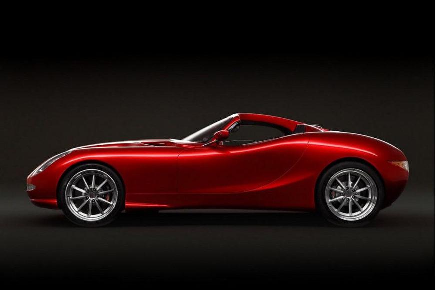 Trident Iceni το ταχύτερο Diesel αυτοκίνητο στον κόσμο.