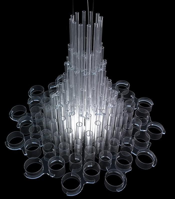 Uma Chandelier Light by Giancarlo Tintori for Nemo Cassina.