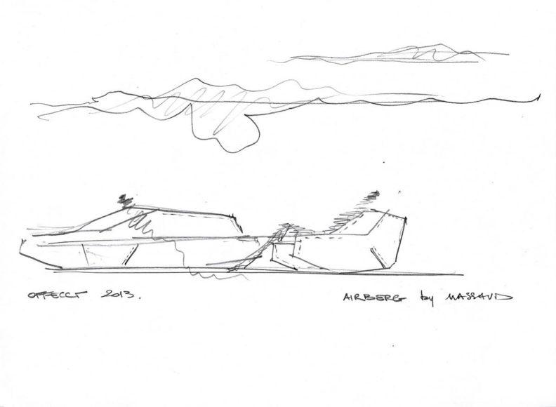 Καθιστικό Airberg του Jean Marie Massaud για την OFFECCT.