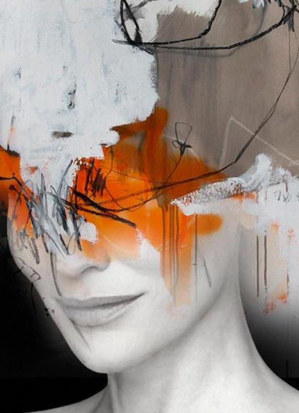 Φωτογραφικά πορτραίτα έργα τέχνης από τον Antonio Mora.