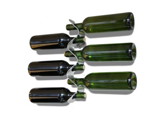 Forminimal Wine Bottle Rack Black Blum