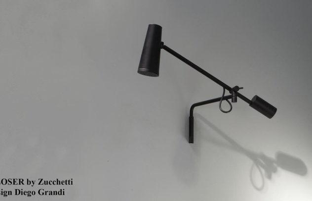Closer Shower Head by Diego Grandi for Zucchetti Kos