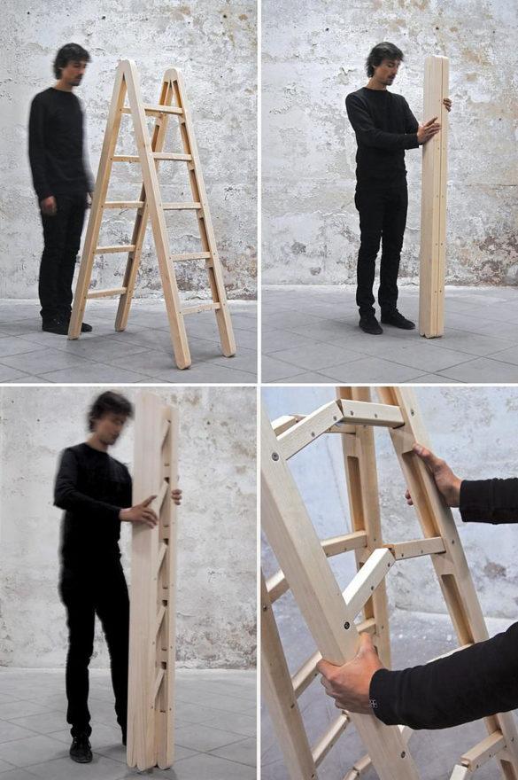 Corner Ladder folding ladder by Company & Company