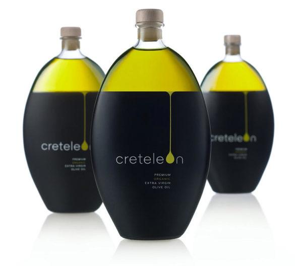 Creteleon olive oil packaging