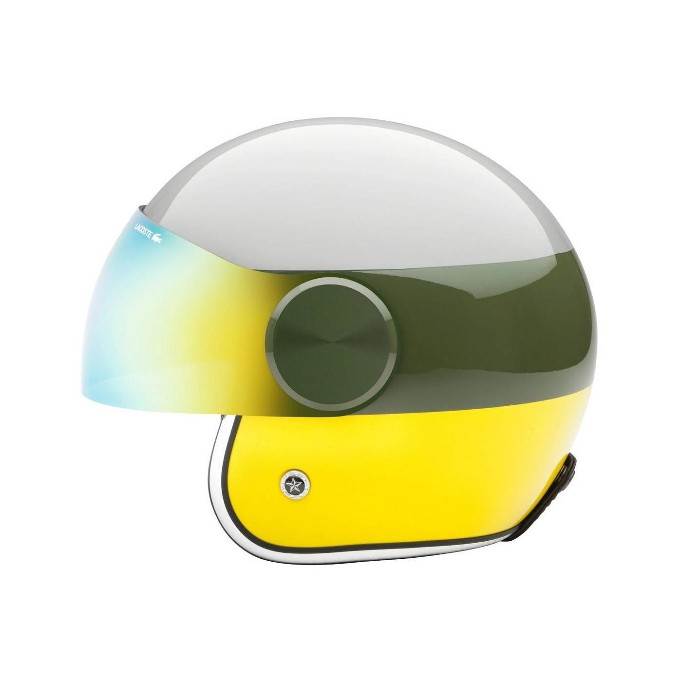 Lacoste Lab for Lacoste L!VE Helmet Collection.