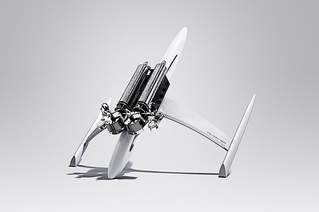 The Music Machine By MB&F And Reuge Looks Like a Tiny Spaceship!