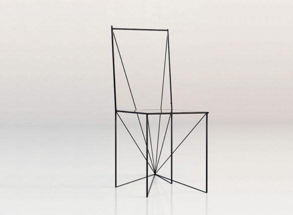 Minimal Perspective Chair Artem Zigert