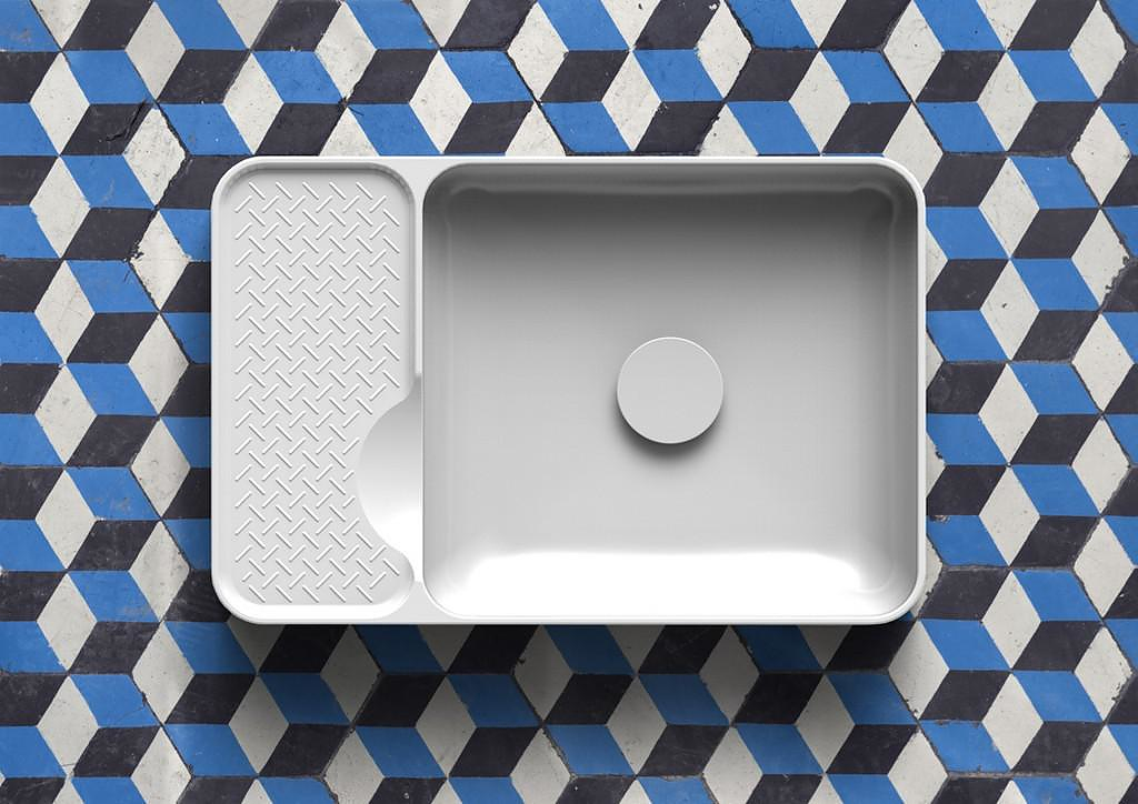 Saphirkeramik Wash Basins by Konstantin Grcic for LAUFEN.