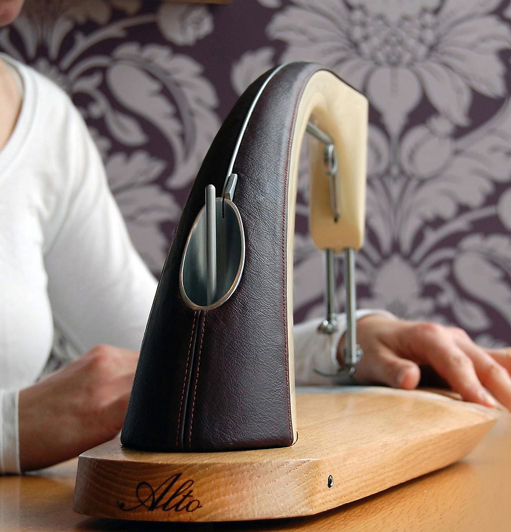 Alto Sewing Machine by Sarah Dickins.