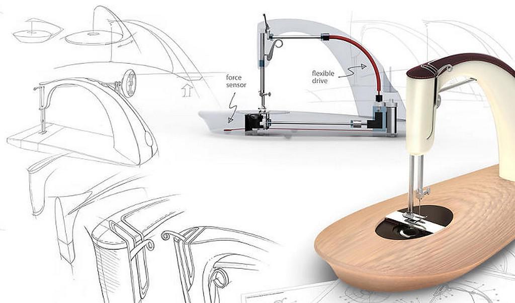 Alto Sewing Machine by Sarah Dickins.