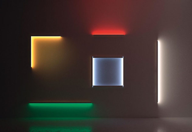 Scrittura Artemide  linear LED modular lights (3)