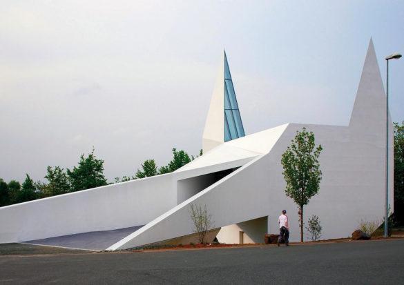 Siegerland roadside chapel Schneider Schumacher