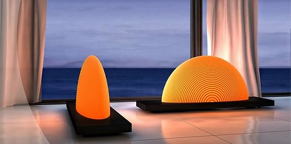 Sunrise Lamp by Natalia Rumyantseva.