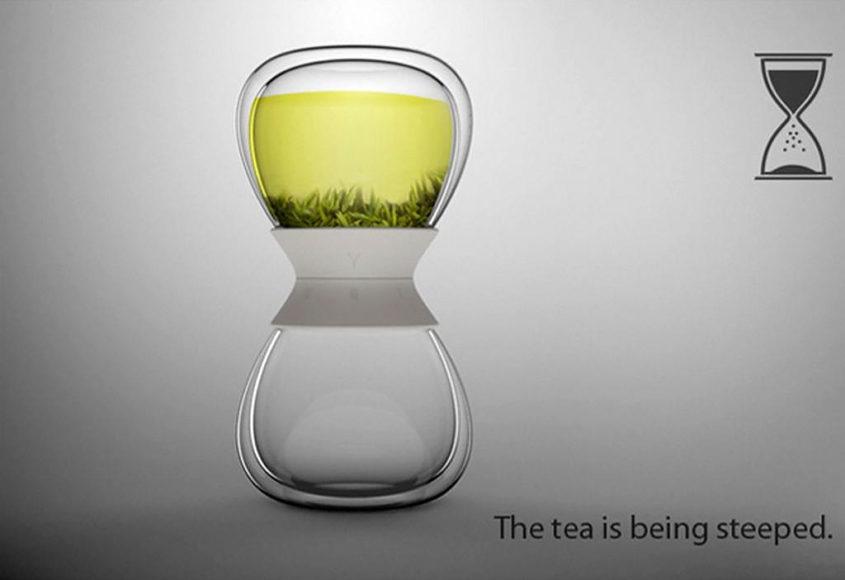Τσαγιέρα Κλεψύδρα Tea Time του Pengtao Yu.