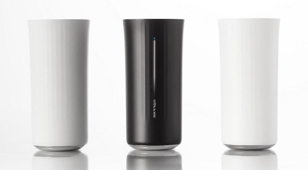 Έξυπνο Ποτήρι Vessyl από τον Yves Behar για την Mark One.