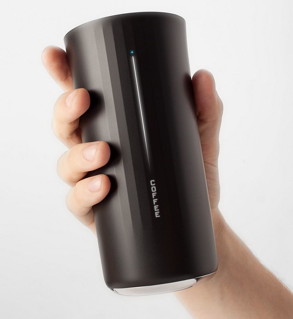 Vessyl Smart Cup by Yves Behar for Mark One.
