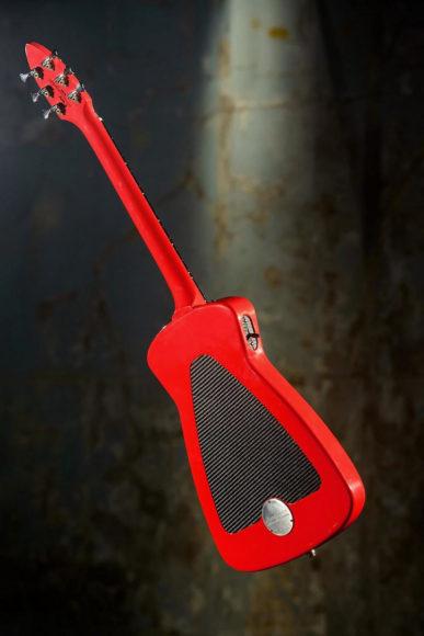 Κιθάρα Alfa Romeo από την Harisson Custom Guitar Works.