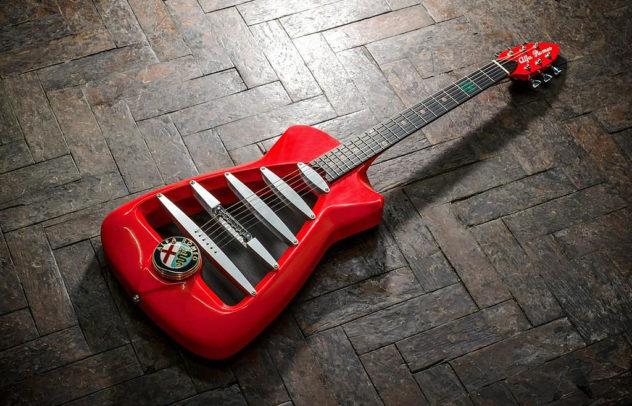 Alfa Romeo guitar by Harisson Custom electric guitars (7)