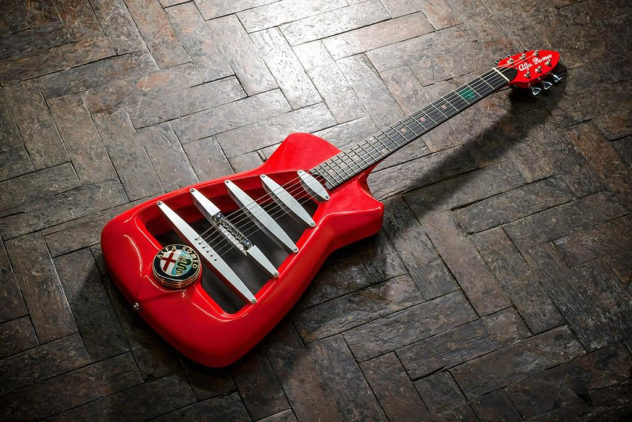 Alfa Romeo guitar by Harisson Custom electric guitars (7)