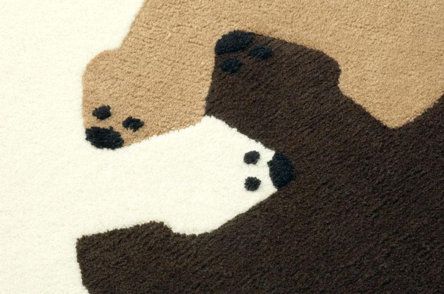 Χαλί Παζλ Bear Hug από τους Permafrost.