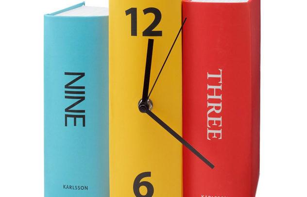 Book Clock by Karlsson (1)