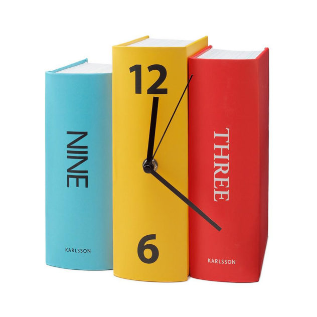 Book Clock by Karlsson (1)