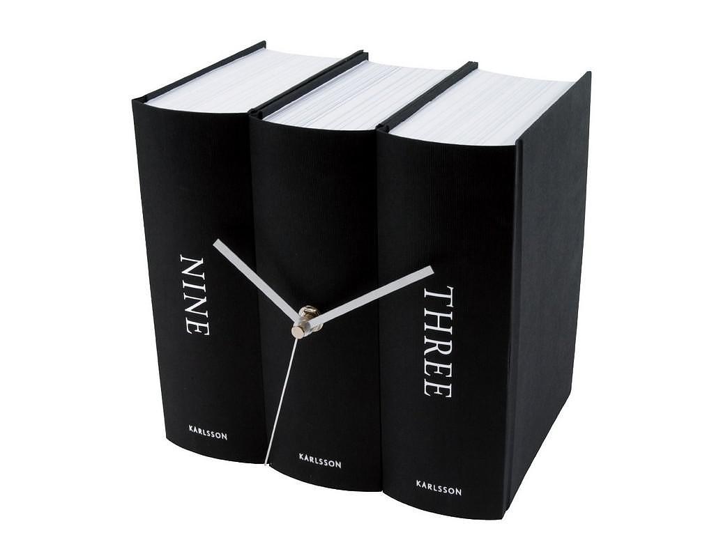 Επιτραπέζιο Ρολόι Book του Sjoed van Heumen για την Karlsson.