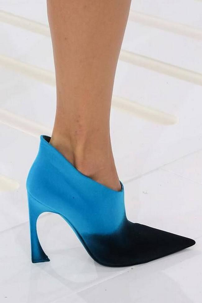 Colorful Dior Booties at Paris Fashion Week Fall/Winter 2014-2015