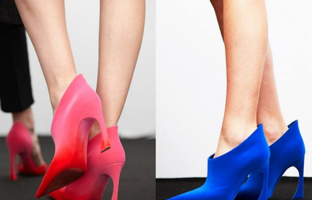 Dior Fall Winter 2014 color booties cover