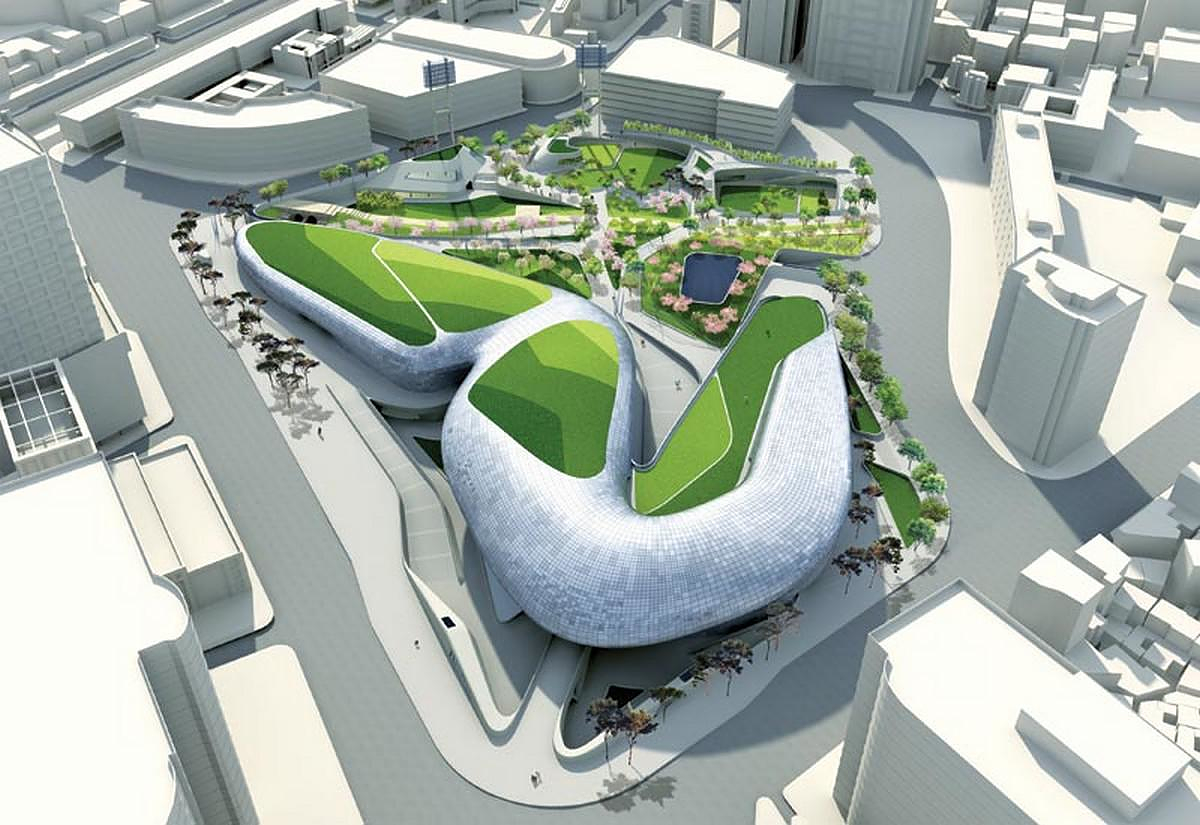 Dongdaemun Design Plaza By Zaha Hadid Architects