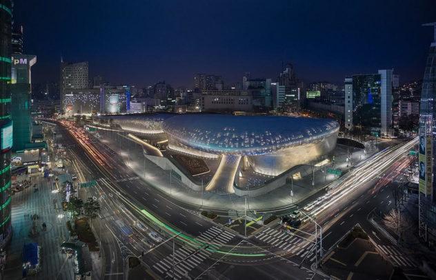 Dongdaemun Design Plaza Seoul Zaha Hadid (7)