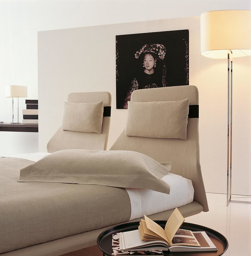 Lazy Night Bed by Patricia Urquiola for B&B Italia.