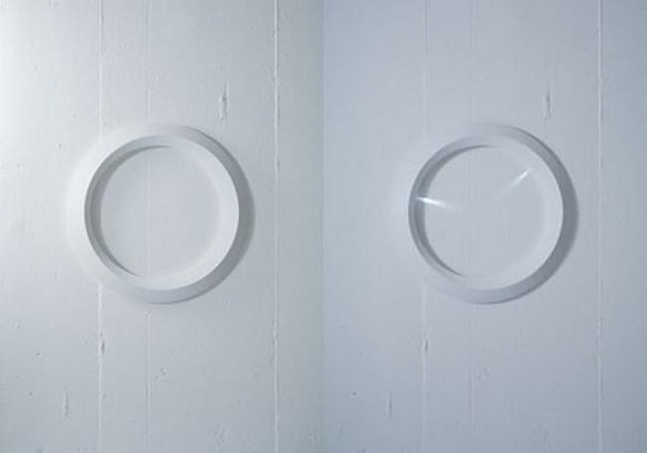 Clock minimal LED wall clock by MILE projects