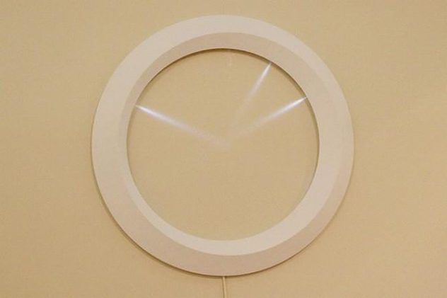 minimal wall clock LED by MILE  (2)