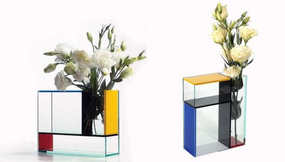 Mondri Vase by PO Design a Gorgeous Mondrian Inspired Vase