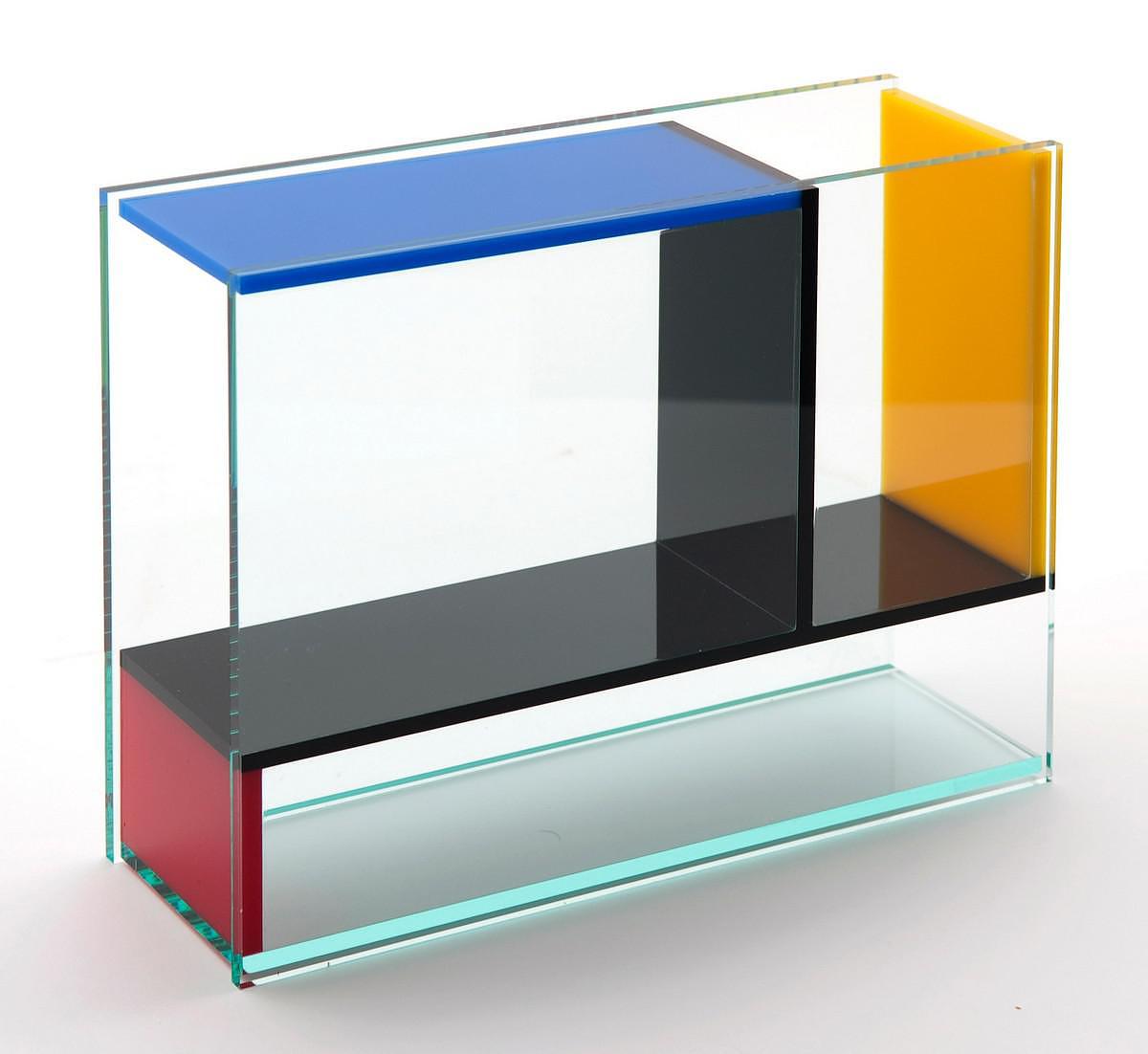 Mondri Vase by Frank Kerdil, a Gorgeous 3 in 1 Mondrian Inspired Vase.