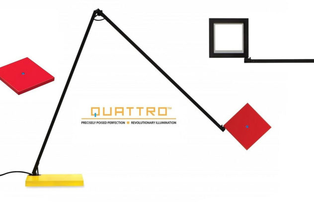 Quattro LED Task Lamp by Robert Sonneman