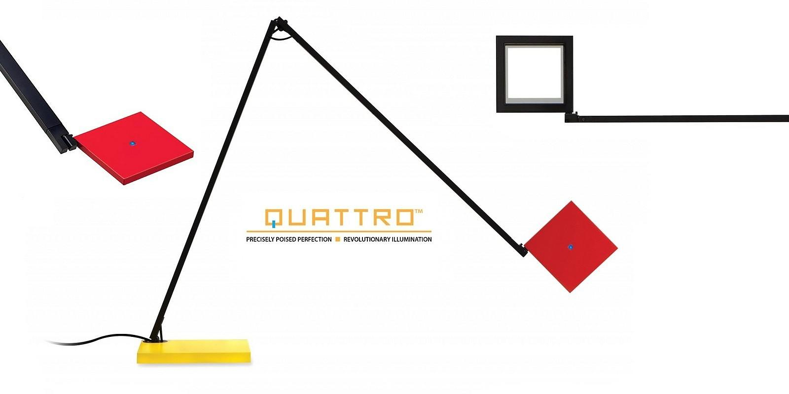 Quattro LED Task Lamp by Robert Sonneman