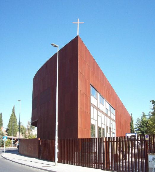 Παρεκκλήσι Santa Monica των Vicens & Ramos στη Μαδρίτη.