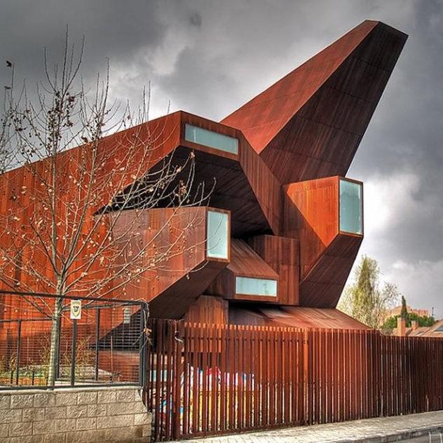Santa Monica Church Madrid Vicens & Ramos (15)
