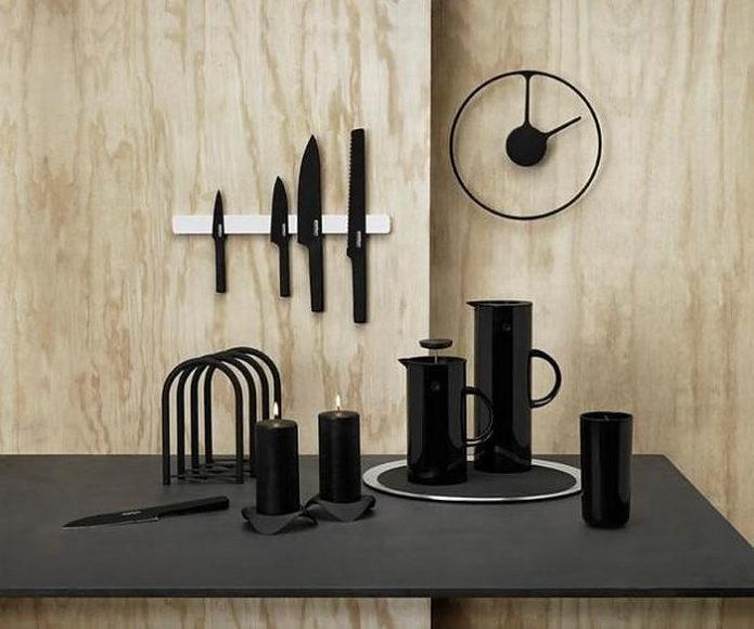 Ρολόι τοίχου Stelton Time Clock από τους Jehs+Laub.